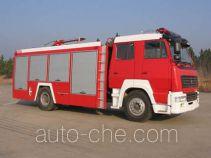 汉江牌HXF5160GXFPM55S型泡沫消防车