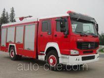汉江牌HXF5190GXFPM80W型泡沫消防车