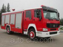 Hanjiang HXF5190GXFSG80W fire tank truck