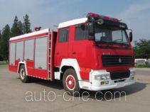 Hanjiang HXF5191GXFSG80S fire tank truck