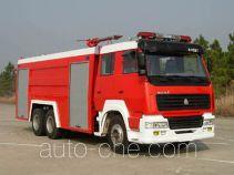 汉江牌HXF5250GXFPM120型泡沫消防车