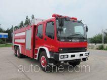汉江牌HXF5250GXFPM120ZD型泡沫消防车