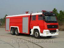 Hanjiang HXF5250GXFSG120 fire tank truck