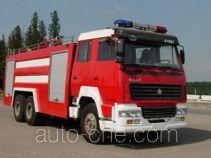 汉江牌HXF5251GXFPM120型泡沫消防车