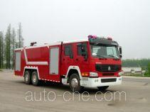 汉江牌HXF5251GXFPM120W型泡沫消防车