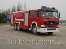 Hanjiang HXF5251GXFSG120W fire tank truck