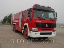 汉江牌HXF5320GXFPM160型泡沫消防车