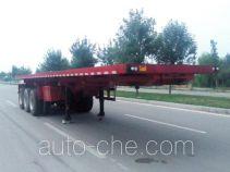 华鑫联合牌HXL9401ZZXP型平板自卸半挂车