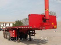 华鑫联合牌HXL9402ZZXP型平板自卸半挂车