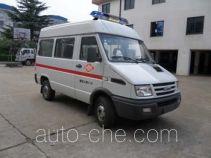 宏运牌HYD5044XJHQA型救护车