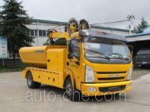 宏运牌HYD5081ZZD型抓斗式垃圾车