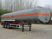 Yongxuan HYG9400GHY chemical liquid tank trailer