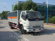 Hongyu (Henan) HYJ5040TQP грузовой автомобиль для перевозки газовых баллонов (баллоновоз)