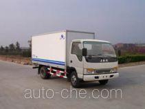 Hongyu (Henan) HYJ5040XBWB insulated box van truck