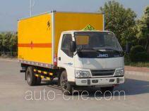 Hongyu (Henan) HYJ5060XQYA explosives transport truck