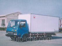 Hongyu (Henan) HYJ5061XBW insulated box van truck
