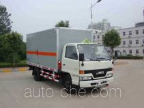 Hongyu (Henan) HYJ5062XYN fireworks and firecrackers transport truck