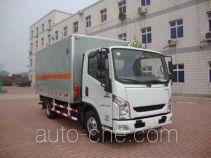 Hongyu (Henan) HYJ5040XRGB автофургон для перевозки твердых легковоспламеняющихся грузов
