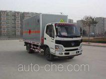 Hongyu (Henan) HYJ5080XQYA explosives transport truck