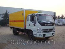 Hongyu (Henan) HYJ5090XQYA explosives transport truck