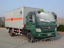 Hongyu (Henan) HYJ5120XQYA explosives transport truck