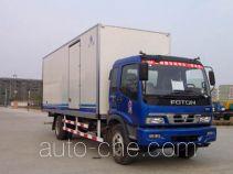 Hongyu (Henan) HYJ5130XBW insulated box van truck