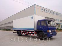 Hongyu (Henan) HYJ5140XBW insulated box van truck