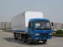 Hongyu (Henan) HYJ5180XBW insulated box van truck