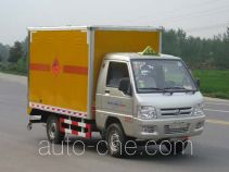 Hongyu (Hubei) HYS5030XQY explosives transport truck