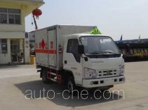Hongyu (Hubei) HYS5030XRYB4 flammable liquid transport van truck