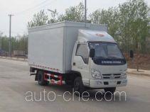 Hongyu (Hubei) HYS5041XWTB mobile stage van truck