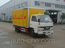 Hongyu (Hubei) HYS5060XQY explosives transport truck