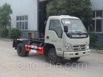 Hongyu (Hubei) HYS5073ZXXB detachable body garbage truck