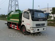 Hongyu (Hubei) HYS5110GQWE5 sewer flusher and suction truck