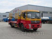 虹宇牌HYS5160TPBE5型平板运输车