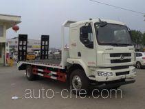 虹宇牌HYS5161TPBL5型平板运输车