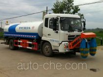 Hongyu (Hubei) HYS5163GQXE5 highway guardrail cleaner truck