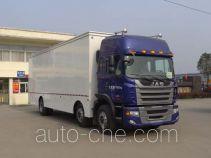 Hongyu (Hubei) HYS5200XWTH5 mobile stage van truck