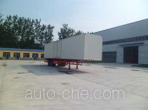 Hualu Yexing HYX9350XXY box body van trailer