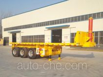 Hualu Yexing HYX9370ZZXP flatbed dump trailer