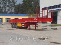 华鲁业兴牌HYX9400E型栏板半挂车