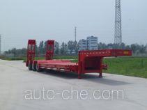 华鲁业兴牌HYX9400TDP型低平板半挂车