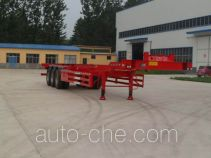 Hualu Yexing HYX9400TJZE container transport trailer