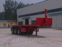 Hualu Yexing HYX9400ZZXP flatbed dump trailer