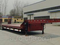 华鲁业兴牌HYX9401TDP型低平板半挂车