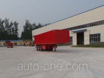 Hualu Yexing HYX9401XXY box body van trailer