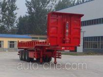 华鲁业兴牌HYX9401ZH型自卸半挂车