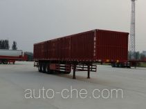 Hualu Yexing HYX9402XXY box body van trailer