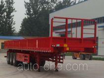 华鲁业兴牌HYX9402ZH型自卸半挂车