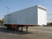 Kelier HZY9281XXY box body van trailer